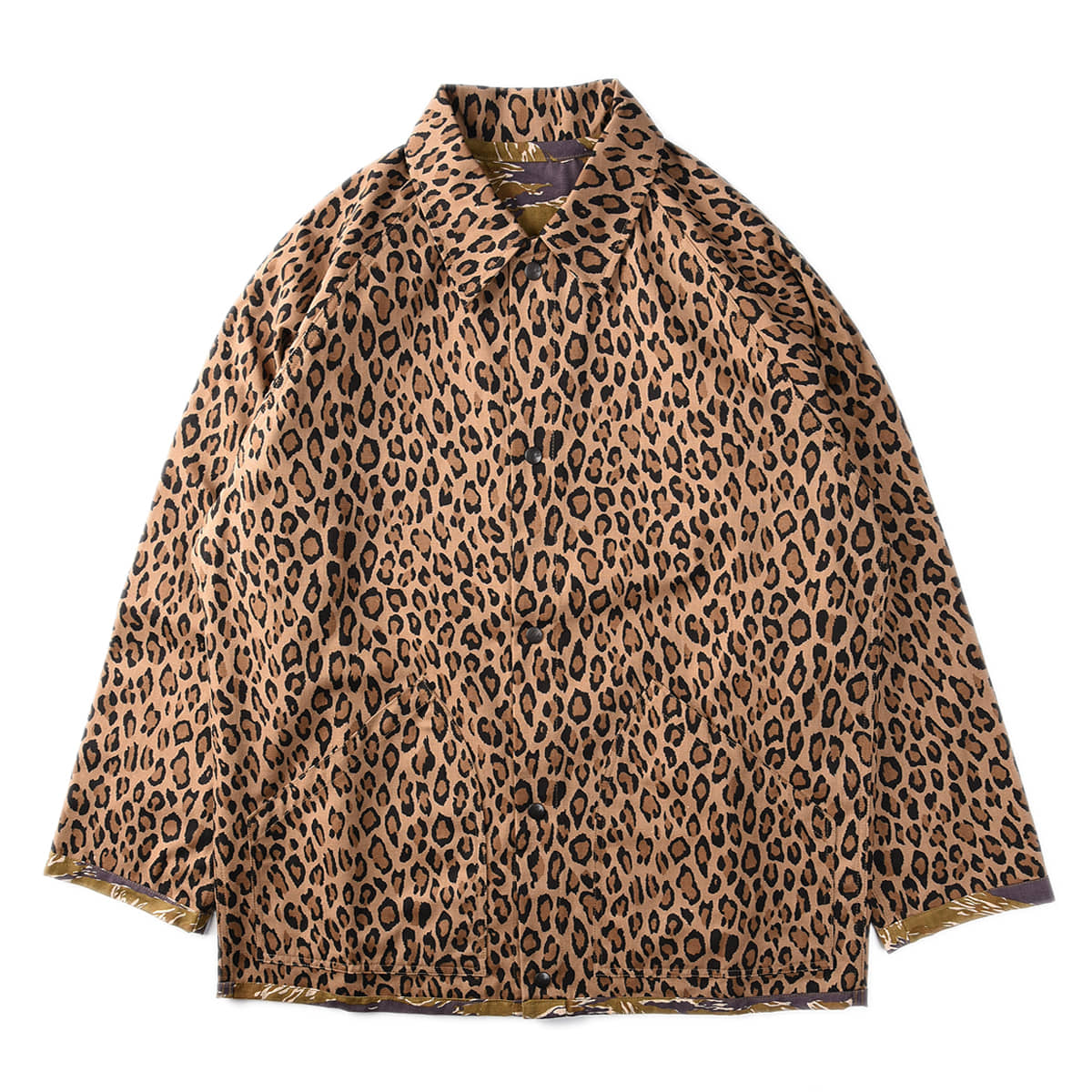 "NEEDLES Reversible Field Jacket ""Leopard&Tiger"""